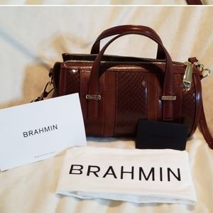 Brahmin Leather Bag NWT